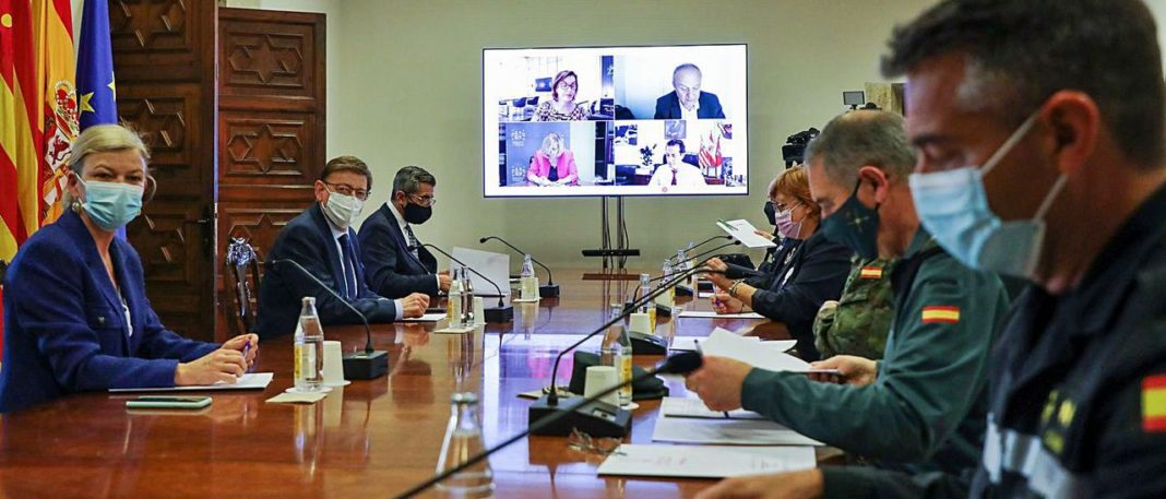 Meeting of Security Council in Valencia