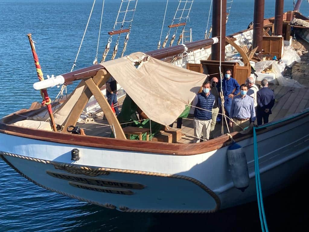 Refurbished Pascual Flores due to visit Torrevieja in June