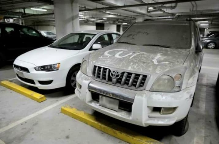 Others illegally parking in your garage space - measures to get vehicle removed