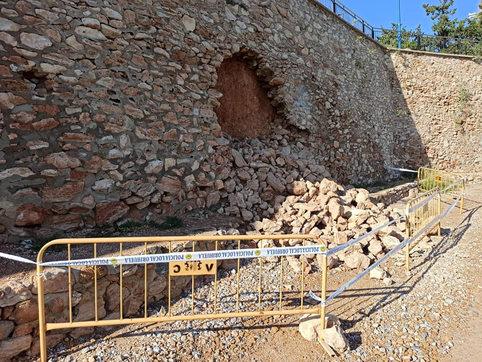 The residents of Orihuela Costa, however, focus on the lack of maintenance by the responsible administrations