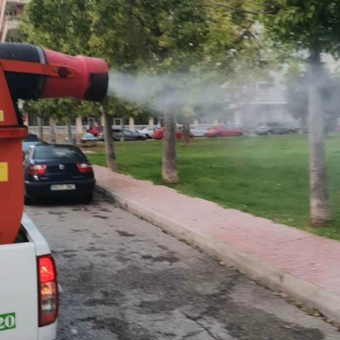 Plague of mosquitoes Forces all Torrevieja schools to be fumigated