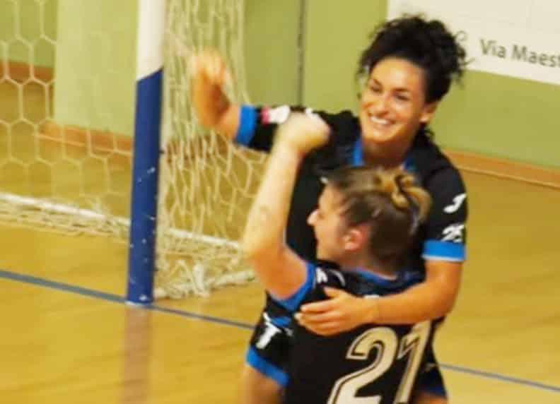 Marta Penalver: scored twice for Falconara.