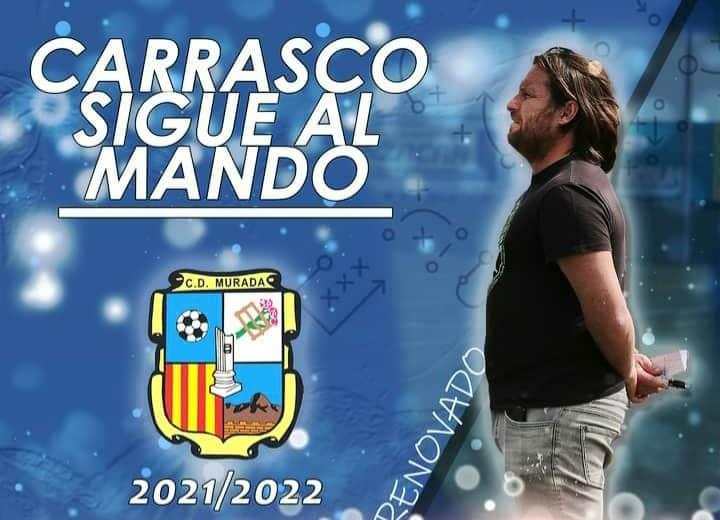 Ramon Carrasco to continue at Murada