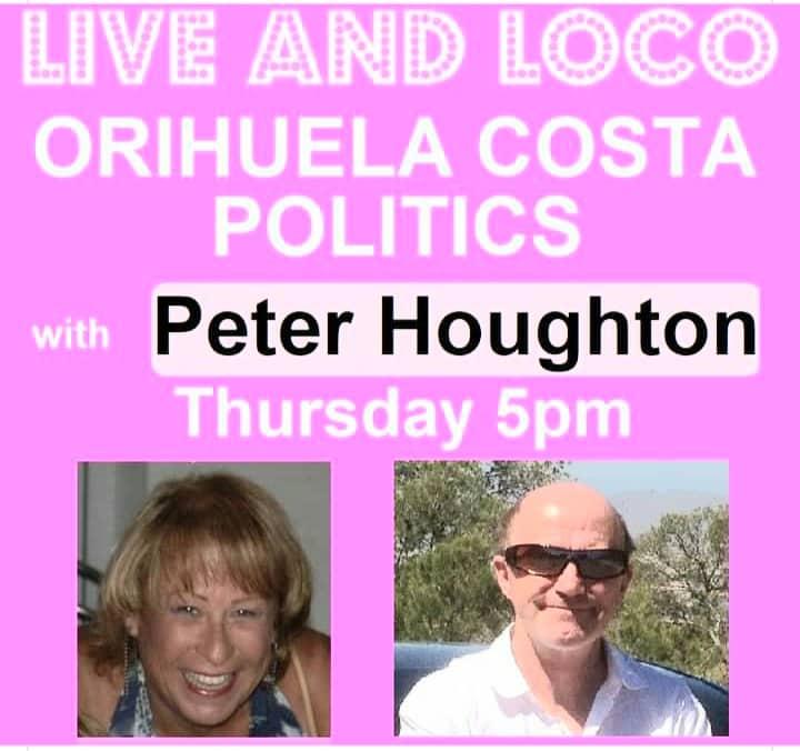 Peter Houghton live at Villamartin Plaza