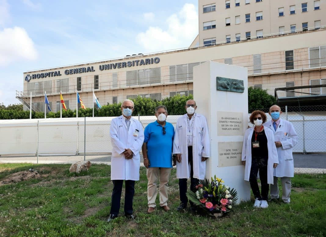 More than 1,000 organ donors at the General Hospital of Alicante save 2,300 lives