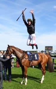 Vereran jockey Frankie Dettori is set to get off to a flying start