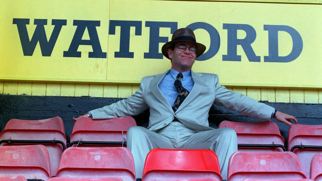 Elton Johnachieved a lifelong ambition when he became the Chairman of Watford Football Club.