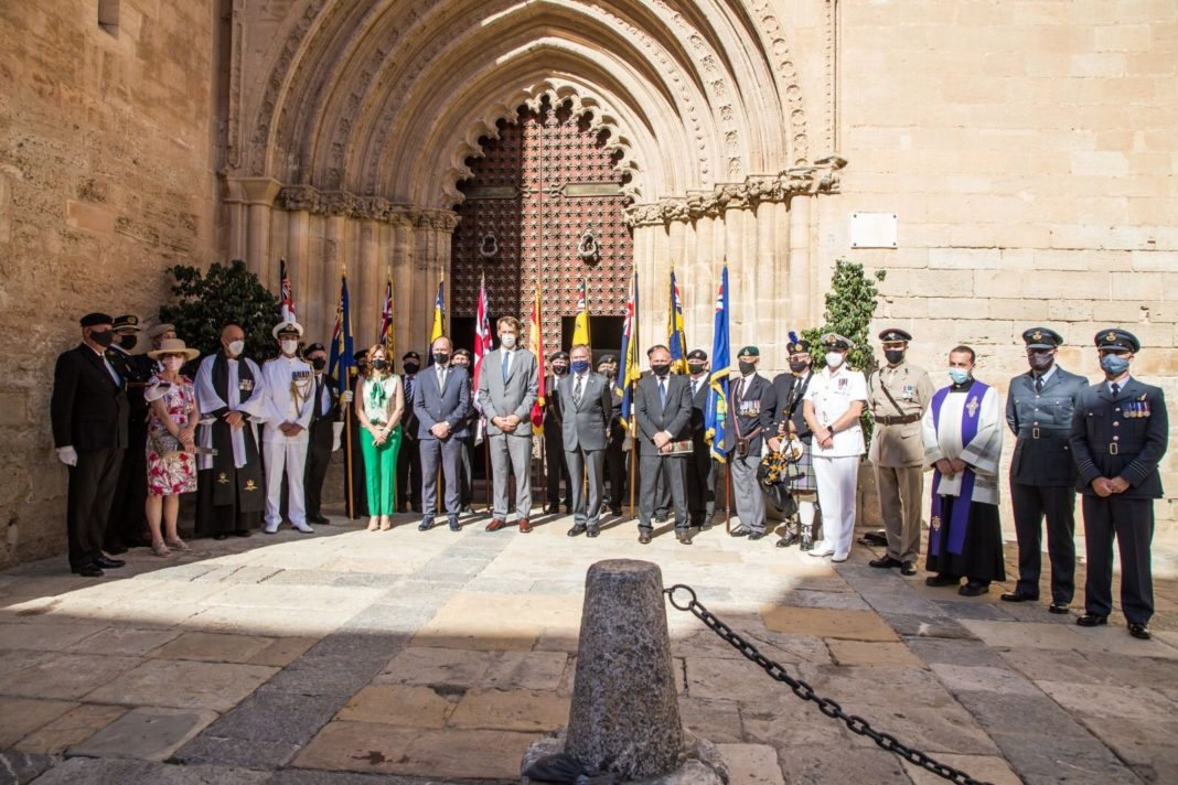 Legion celebrates it's special day in Orihuela Cathedral