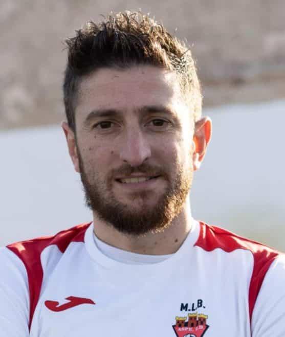 Luis Fornes Martinez ofAspe Union Deportivo 'A'.