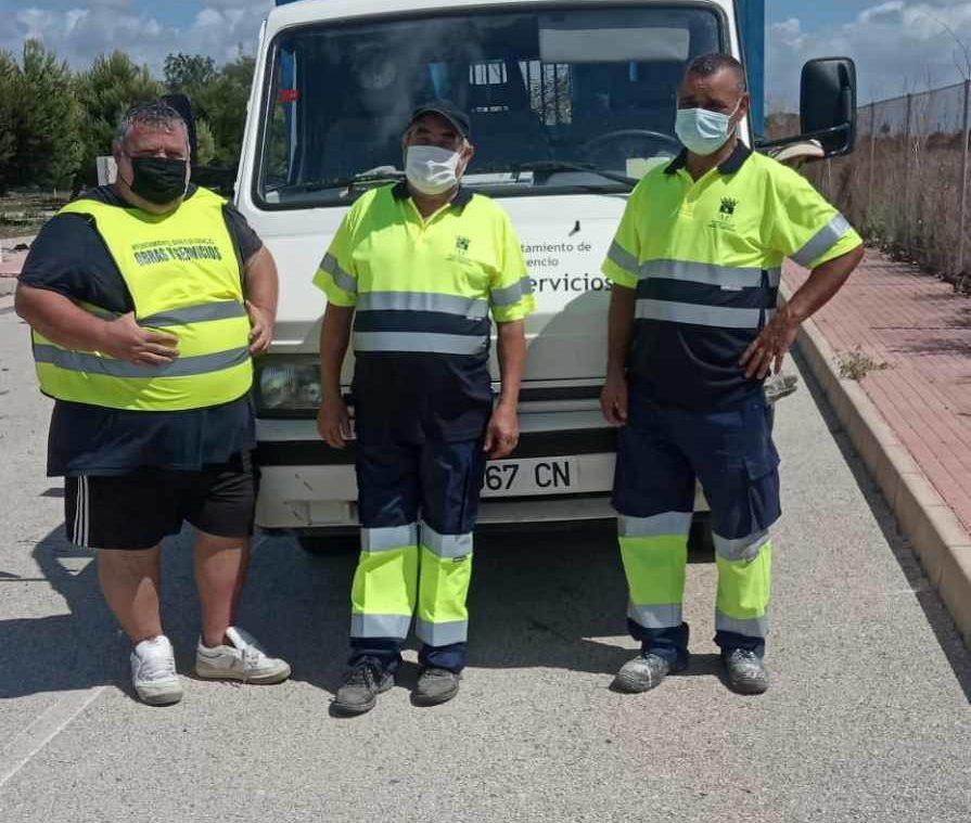 Three more unemployed taken on by San Fulgencio