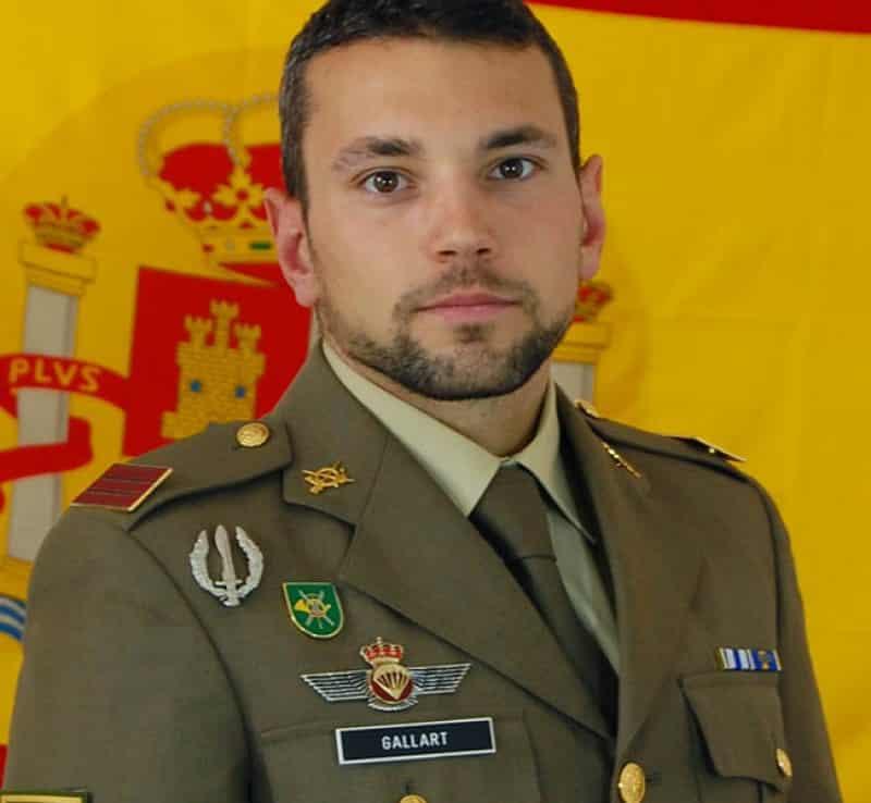 Sgt Gallart was originally from Hellín