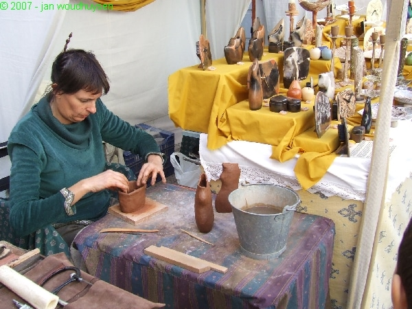 A real Craft Fair in Oliva