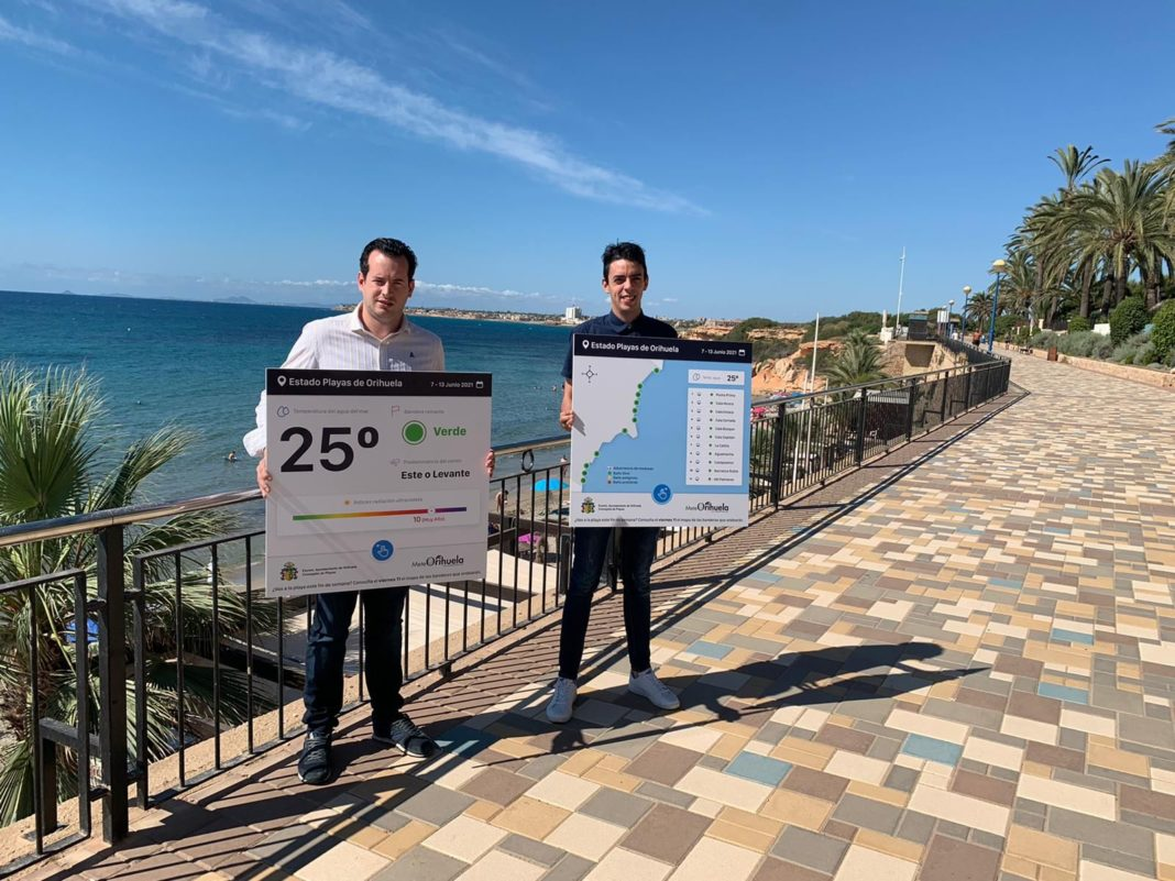 Environmental alerts for Orihuela Beaches
