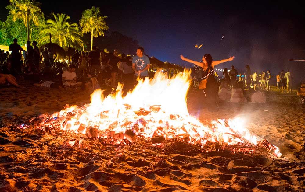Costa Blanca beaches closed during the night of San Juan