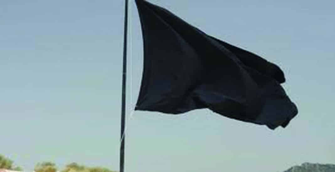 Another Black Flag for Cala Mosca