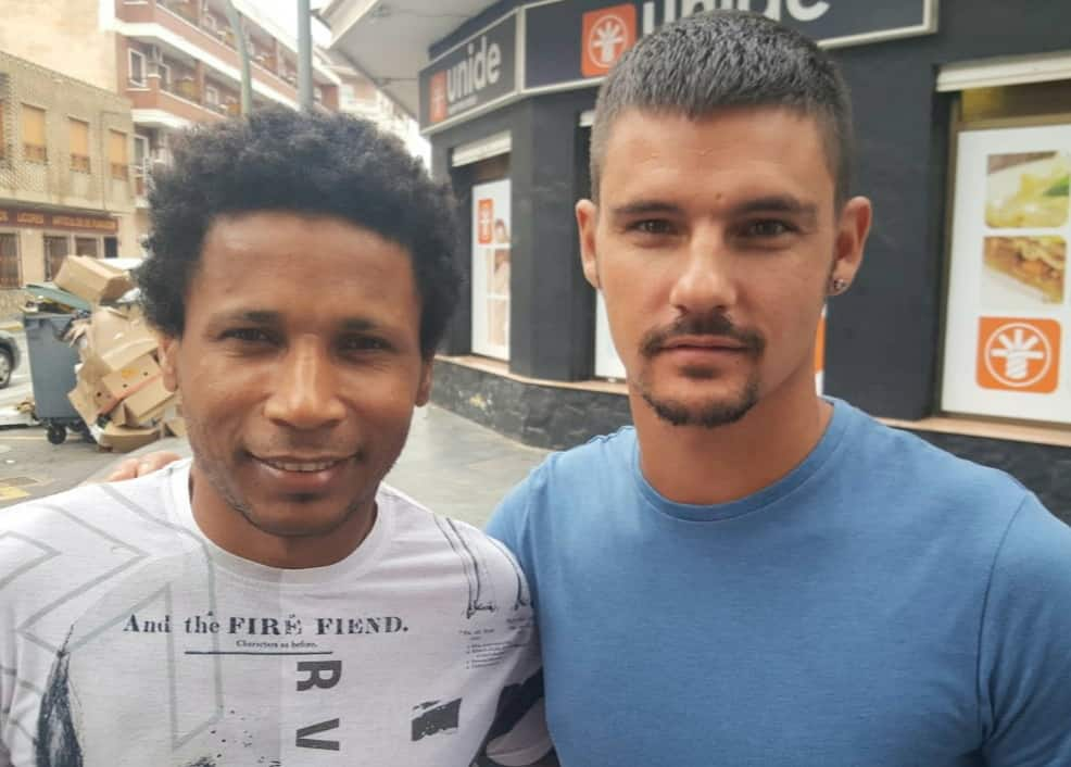 Vazquinho and Racing San Miguel teammate Dani O'Rourke.