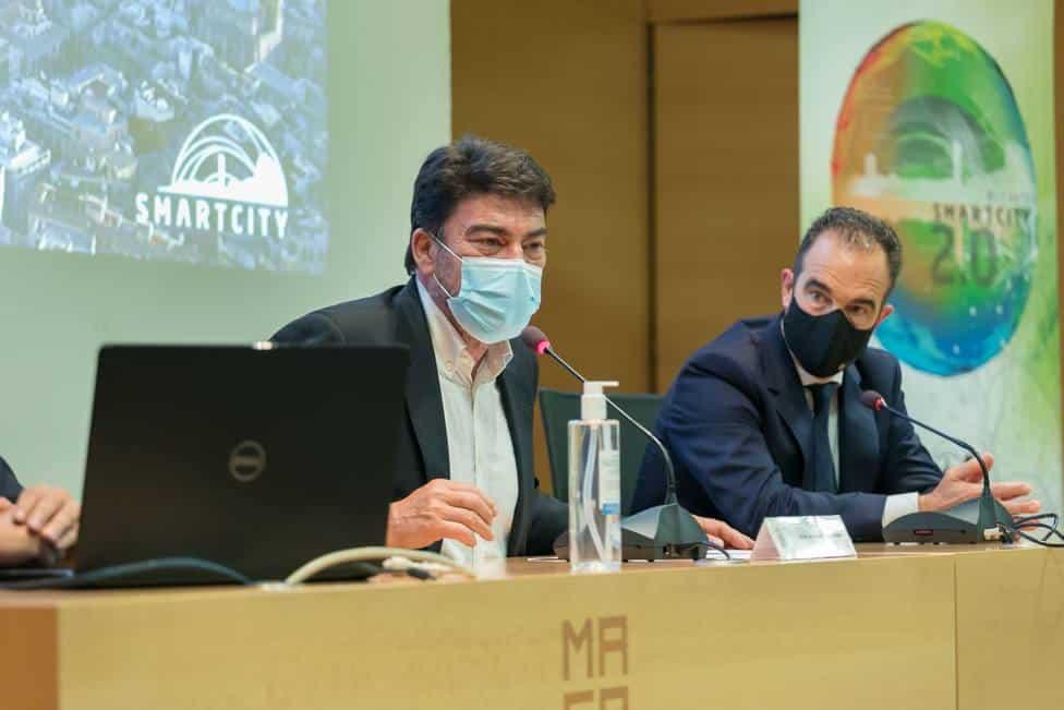 Alicante Smart City, Mayor Luis Barcala