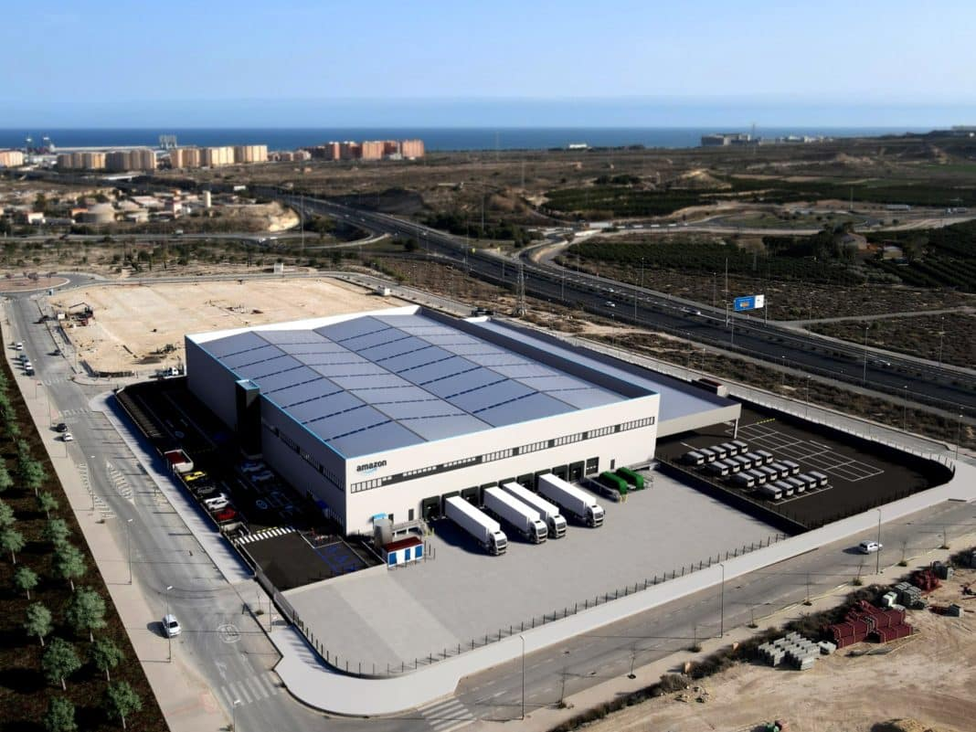 Amazon logistics up and running in Alicante