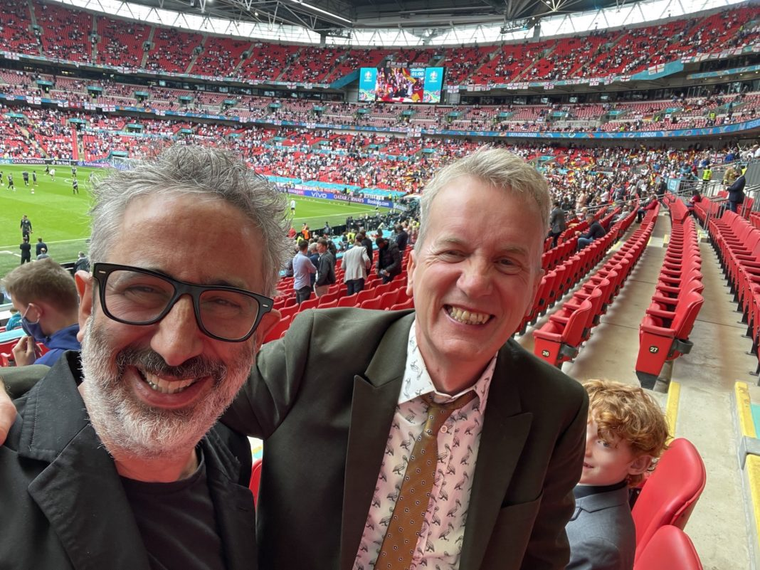 'Three Lions by comedians Baddiel and Skinner