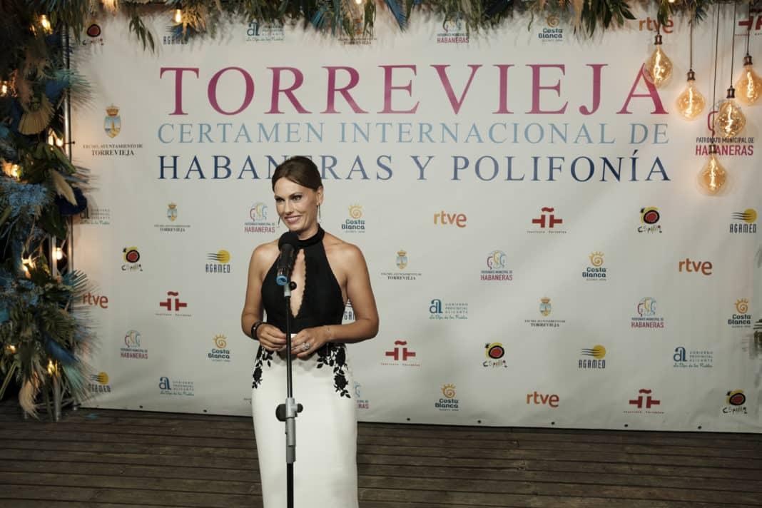 Carolina Casado to host the 67th Torrevieja Habaneras