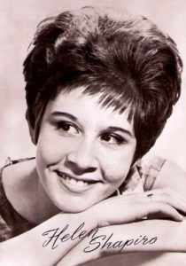 Helen Shapiro, who is 74 now, was Walking Back to Happiness when she was 14