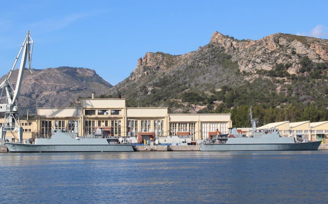 The Naval Base at Cartagena