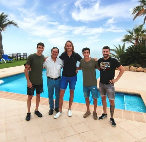 Yet another year, Alex and Marc Márquez spend a few days off in Mojácar