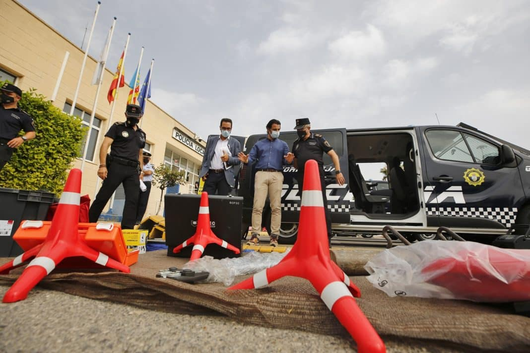 Four new Local Police vans for Torrevieja