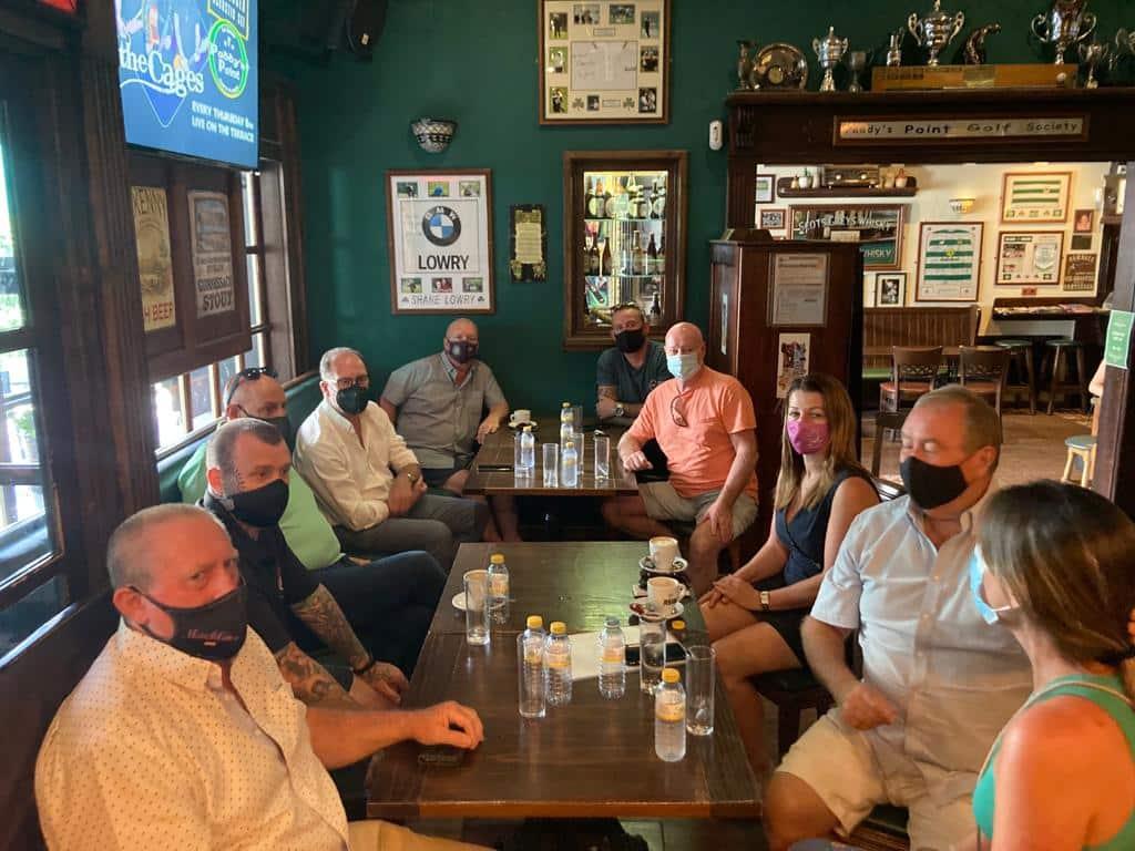 Orihuela Costa Bar Owners 'open up' to mayor