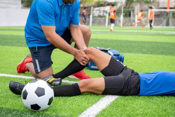 What does it mean when people say a footballer is 'injury-prone'?