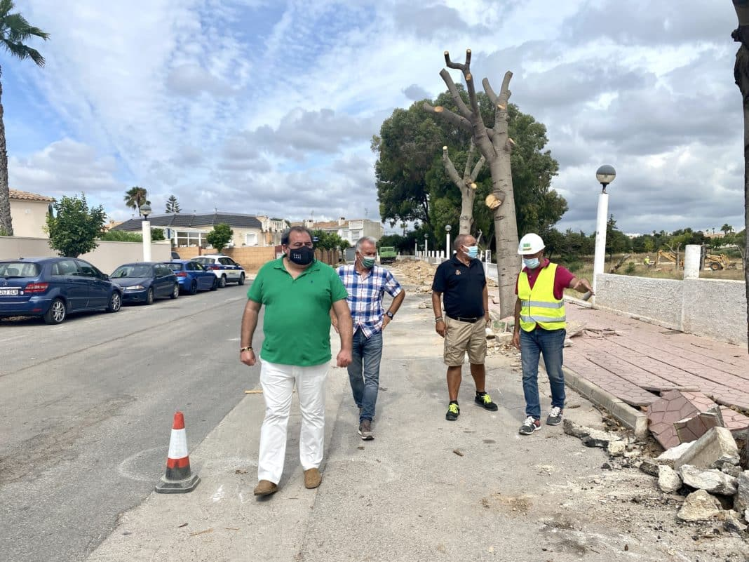 the councillor for Infrastructure, Ángel Noguera,