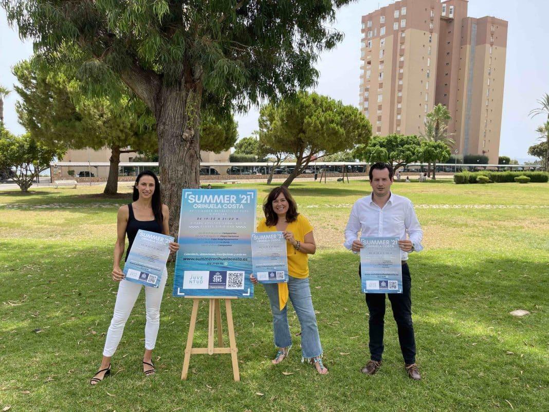 Free beach activities for families in Orihuela Costa