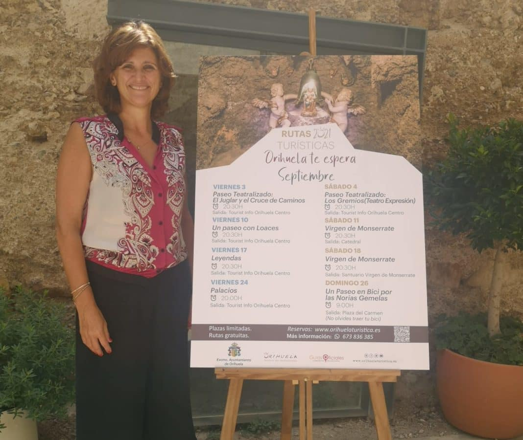 The Virgin of Monserrate is the theme of Orihuela's September tourist routes