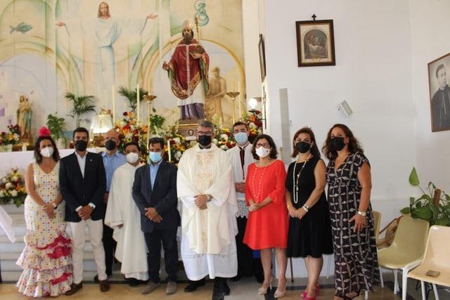 Mass In Mojacar In Honor Of Its Patron Saint, San Agustin
