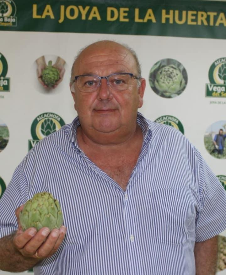 Artichokes 'jewel' of the Vega Baja' - President of Alcachofa de la Vega Baja del Segura, Antonio Ángel Hurtado.