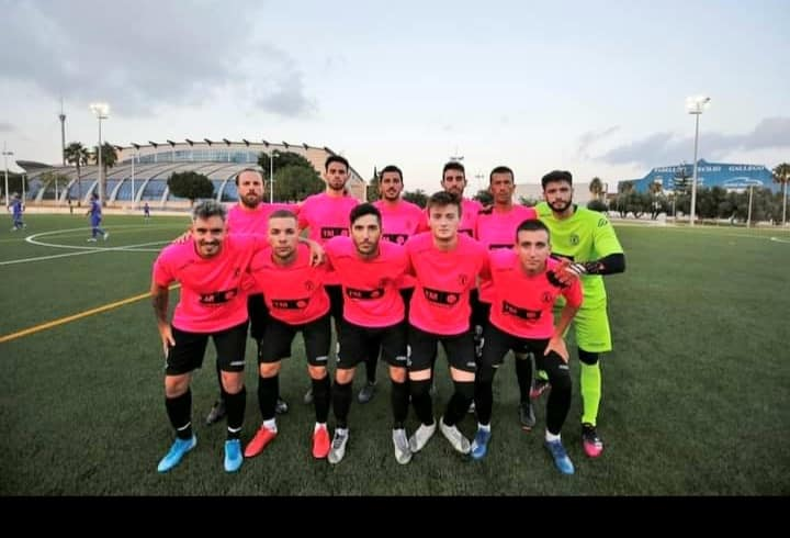 Sporting Costa Blanca Torrevieja CF line-up against FB Redován.