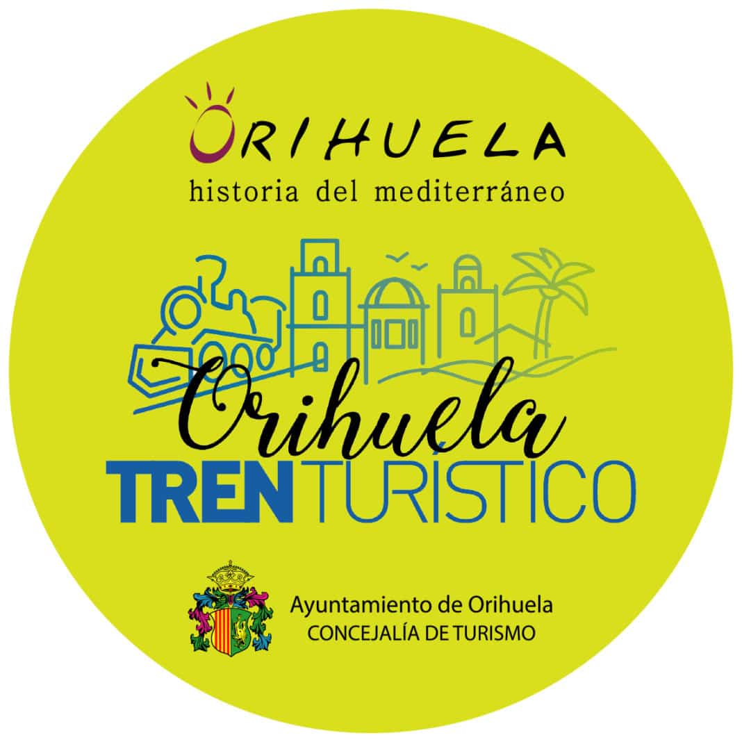 Free tourist train operating on Orihuela Costa
