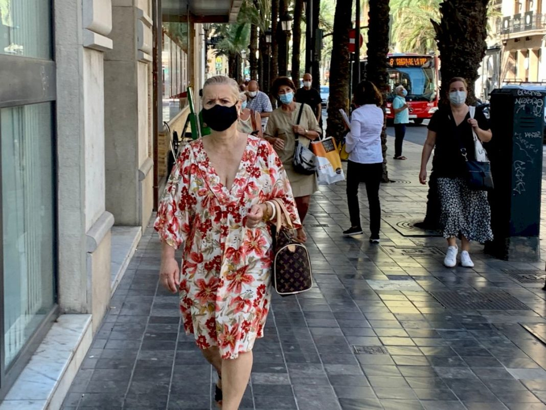 Coronavirus extreme risk persists in the province of Alicante