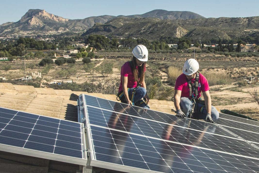 Electricity costs double the installation of solar panels