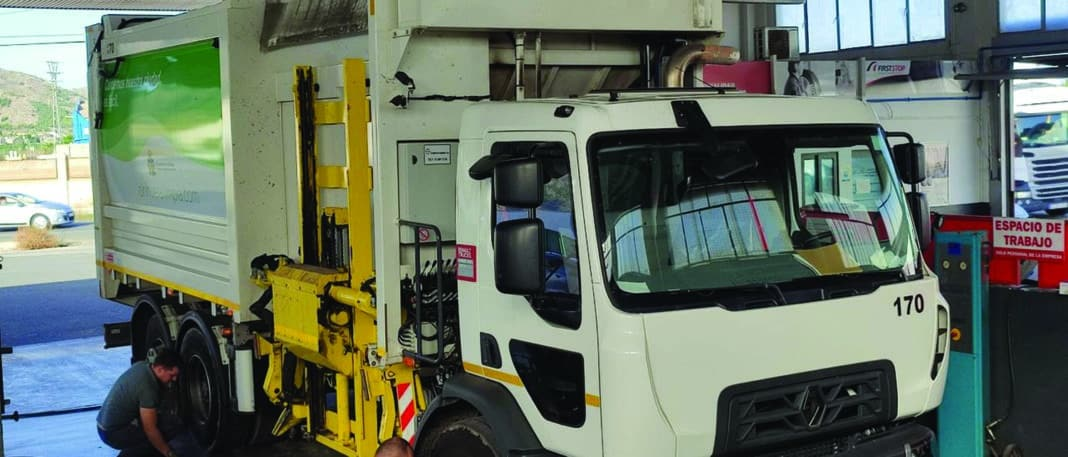 Two million euro allocated to maintain waste vehicles