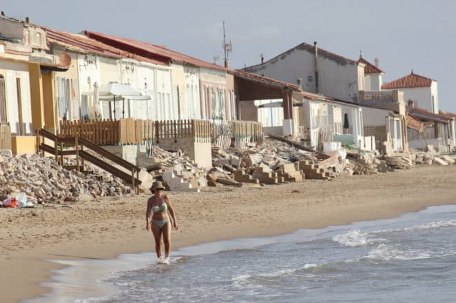 NASA warns that Alicante sea level will rise 58 cm by 2100