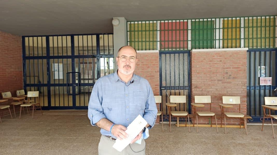 Phase 2 underway in refurbishment of Antonio Sequeros de Benejúzar school