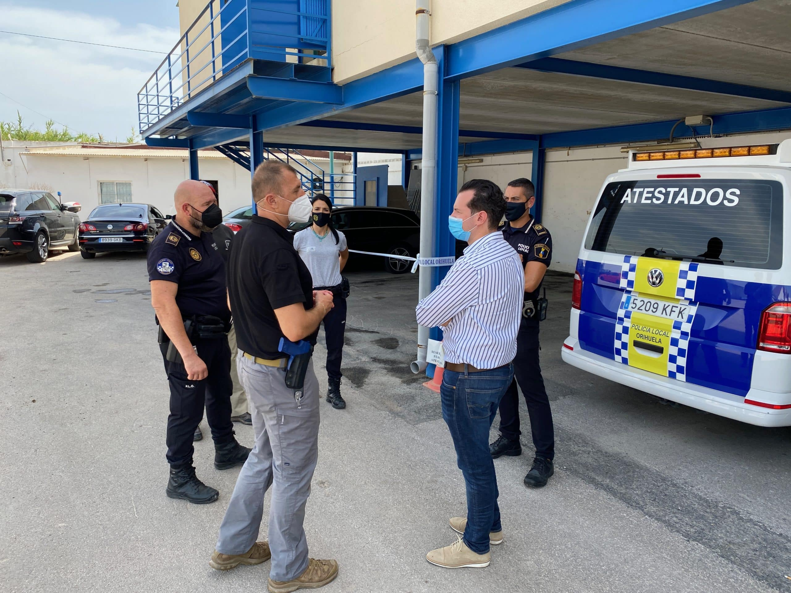15 police officers attend Orihuela First aid course
