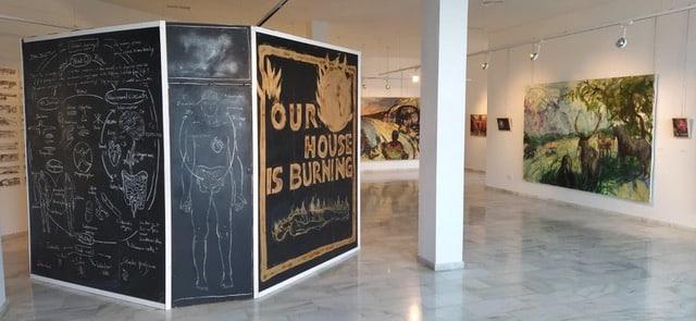 Thomas Neukirch Exhibition In Mojacar