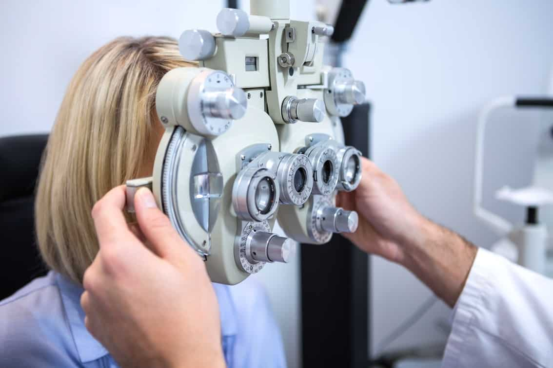 It is advisable to have an eye check-up between the ages of four and six,