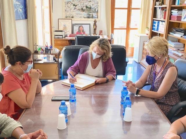Minister for culture visits Mojácar