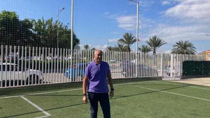 The Councillor for Sports, Víctor Bernabéu,