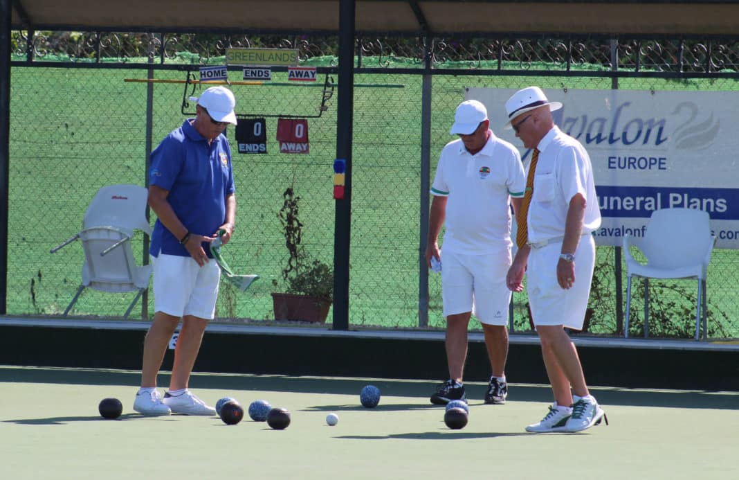 Peter Morgan and Andy Miles met in the 2020 Men's Final played at Greenlands