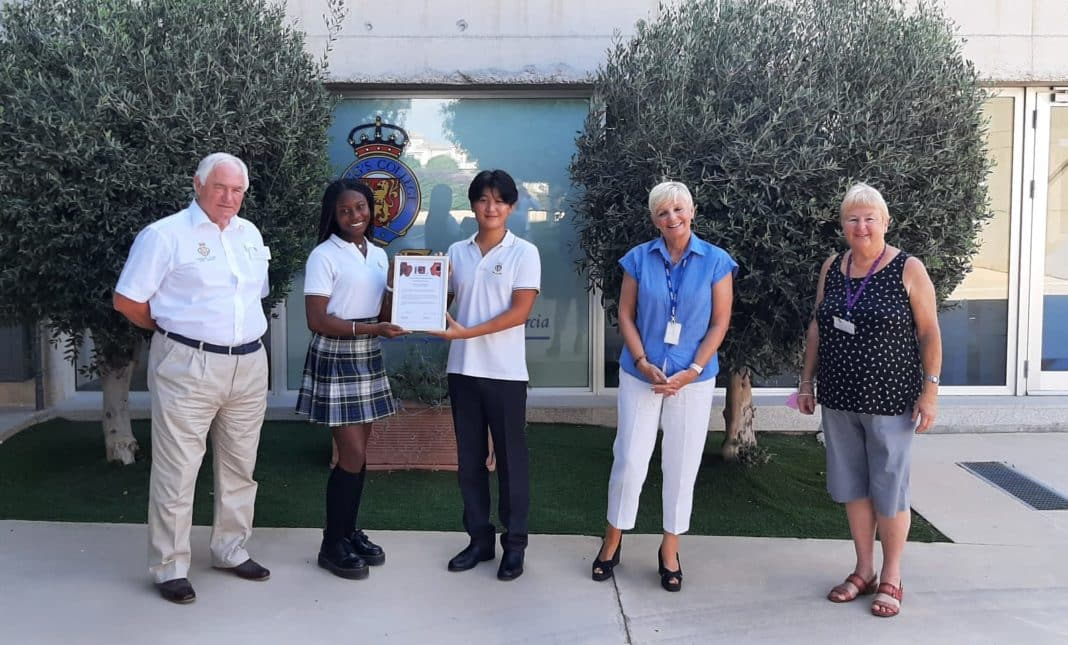 RBL thanks Kings College for it's continued support