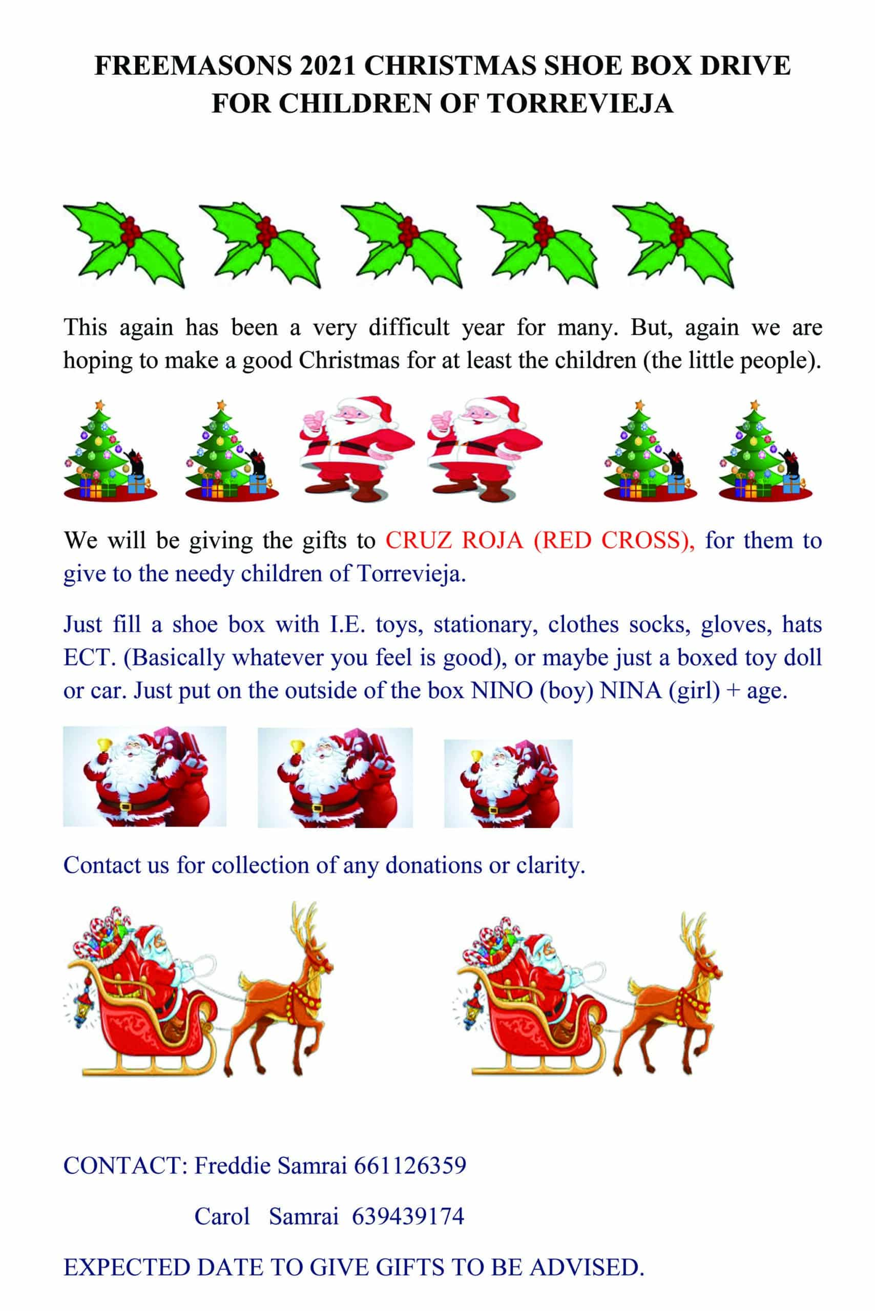 Masons Provide Christmas Cheer